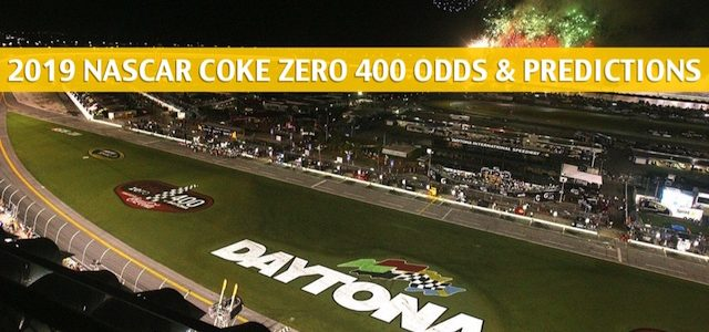 Coke Zero 400 Predictions, Picks, Odds, and Betting Preview – July 6 2019