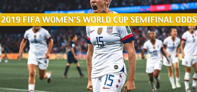 England vs USA Predictions, Picks, Odds, and Betting Preview – FIFA Women's World Cup Semifinal – July 2 2019