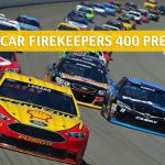 Firekeepers Casino 400 Predictions, Picks, Odds, and Betting Preview - NASCAR Monster Energy Cup Series Race - June 9 2019