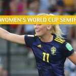 Netherlands vs Sweden Predictions, Picks, Odds, and Betting Preview - FIFA Women's World Cup Semifinals - July 3 2019