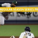 Tampa Bay Rays vs Oakland Athletics Predictions, Picks, Odds, and Betting Preview - Season Series June 20-23 2019