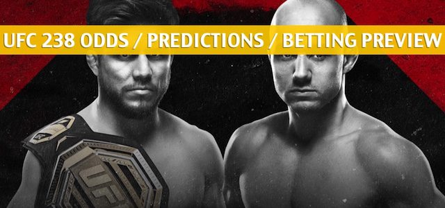UFC 238 Predictions, Picks, Odds, and Betting Preview – Henry Cejudo vs Marlon Moraes – June 8 2019