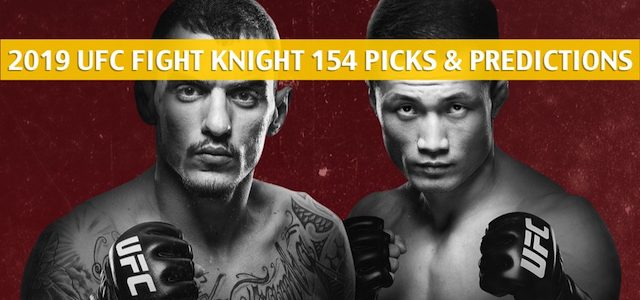 UFC Fight Night 154 Predictions, Picks, Odds, Betting Preview – Renato Moicano vs Chan Sung Jung – June 22 2019