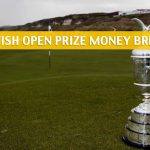 2019 British Open Championship Purse and Prize Money Breakdown
