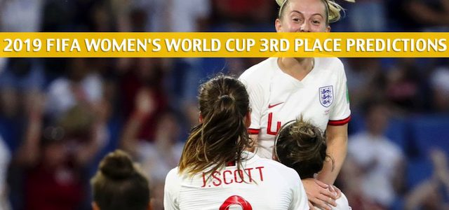 England vs Sweden Predictions, Picks, Odds, and Betting Preview – FIFA Women's World Cup Third Place Match on July 6 2019