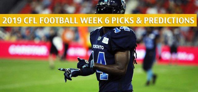 Toronto Argonauts vs Calgary Stampeders Predictions, Picks, Odds, Preview – CFL Week 6 – July 18 2019