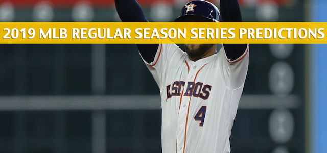 Houston Astros vs St Louis Cardinals Predictions, Picks, Odds, and Betting Preview – Season Series July 26-28 2019