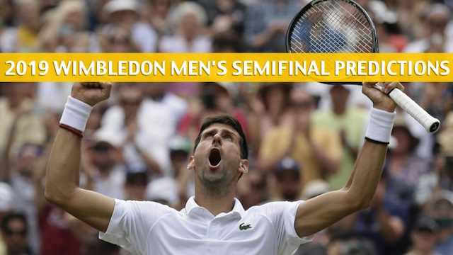 Djokovic Vs Bautista Agut Predictions Odds Preview 2019 Wimbledon