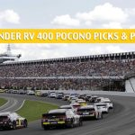 Gander RV 400 Pocono Predictions, Picks, Odds, and Betting Preview - July 28 2019