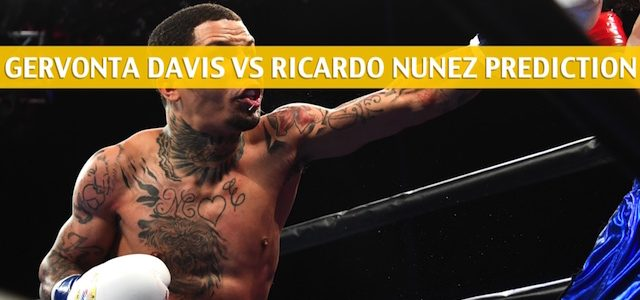 Gervonta Davis vs Ricardo Nunez Predictions, Picks, Odds, and Betting Preview – WBA Super World Super Featherweight Title Bout – July 27 2019