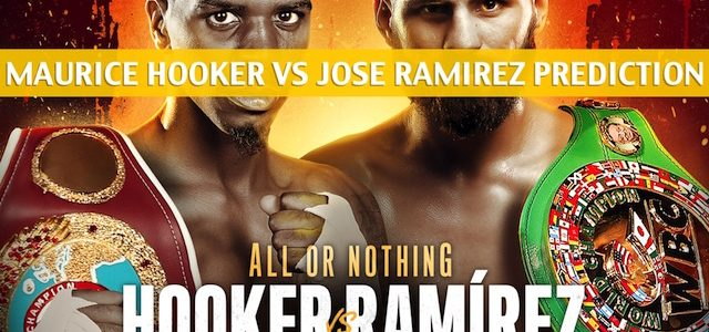 Maurice Hooker vs Jose Ramirez Predictions, Picks, Odds, and Betting Preview – World Super Lightweight Unification Bout  – July 27 2019
