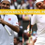Rafael Nadal vs Roger Federer Predictions, Picks, Odds, and Betting Preview - Wimbledon Men's Singles Semifinals - July 12 2019