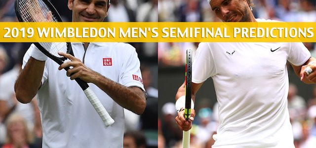 Rafael Nadal vs Roger Federer Predictions, Picks, Odds, and Betting Preview – Wimbledon Men's Singles Semifinals – July 12 2019
