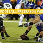 New York Jets vs New York Giants Predictions, Picks, Odds, and Betting Preview - NFL Preseason Week 1 - August 8 2019