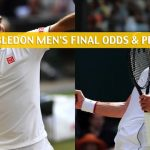 Novak Djokovic vs Roger Federer Predictions, Picks, Odds, and Betting Preview - Wimbledon Men's Singles Final - July 14 2019