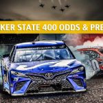 Quaker State 400 Predictions, Picks, Odds, and Betting Preview - July 13 2019