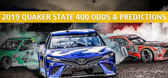 Quaker State 400 Predictions, Picks, Odds, and Betting Preview – July 13 2019