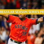 Texas Rangers vs Houston Astros Predictions, Picks, Odds, and Betting Preview - Season Series July 19-21 2019