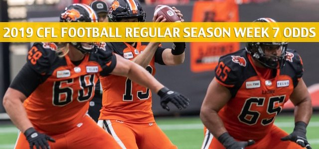 Saskatchewan Roughriders vs BC Lions Predictions, Picks, Odds, Preview – CFL Week 7 – July 27 2019