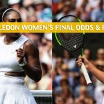 Serena Williams vs Simona Halep Predictions, Picks, Odds, and Betting Preview - Wimbledon Women's Singles Finals - July 13 2019