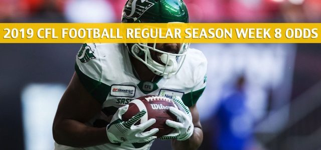 Hamilton Tiger Cats vs Saskatchewan Roughriders Predictions, Picks, Odds, Preview – CFL Week 8 – August 1 2019