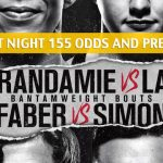 UFC Fight Night 155 Predictions, Picks, Odds and Betting Preview - Germaine De Randamie vs. Aspen Ladd - July 13 2019