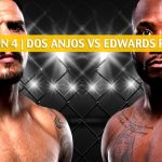 UFC on ESPN 4 Predictions, Picks, Odds and Betting Preview - Rafael Dos Anjos vs Leon Edwards - July 20 2019