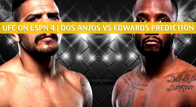 UFC on ESPN 4 Predictions, Picks, Odds and Betting Preview – Rafael Dos Anjos vs Leon Edwards – July 20 2019
