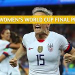 USA vs Netherlands Predictions, Picks, Odds, and Betting Preview - FIFA Women's World Cup Final - July 7 2019