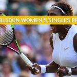 Serena Williams vs Kaja Juvan Predictions, Picks, Odds, and Betting Preview - Wimbledon Women's Singles Second Round - July 4 2019