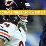 Chicago Bears vs New York Giants Predictions, Picks, Odds, and Betting Preview - NFL Preseason Week 2 - August 16 2019
