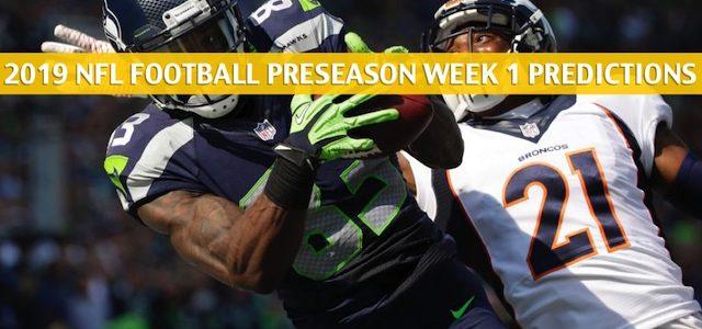 Denver Broncos vs Seattle Seahawks Predictions, Picks, Odds, and Betting Preview – NFL Preseason Week 1 – August 8 2019