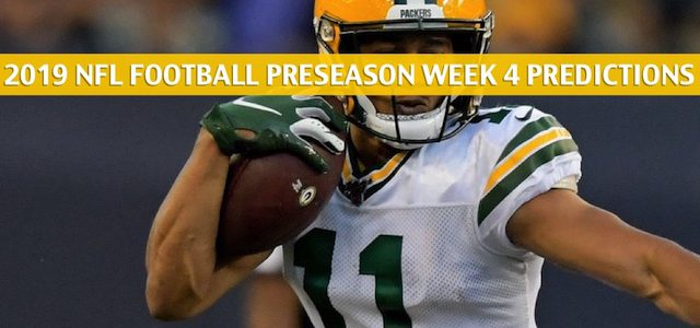 Kansas City Chiefs vs Green Bay Packers Predictions, Picks, Odds, and Betting Preview – NFL Preseason Week 4 – August 29 2019