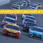 Consumer Energy 400 Predictions, Picks, Odds, and Betting Preview - August 11 2019