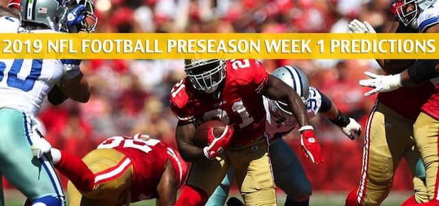 Dallas Cowboys vs San Francisco 49ers Predictions, Picks, Odds, and Betting Preview – NFL Preseason Week 1 – August 10 2019