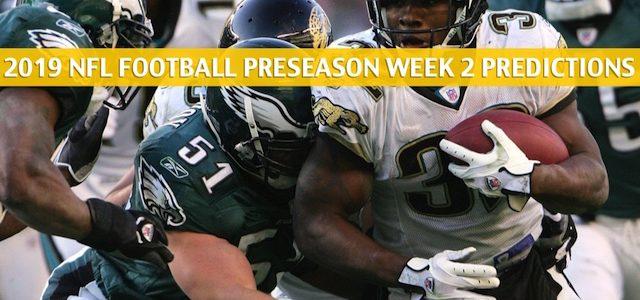 Eagles vs Jaguars Predictions, Picks, Odds, Preview - Aug 15 2019