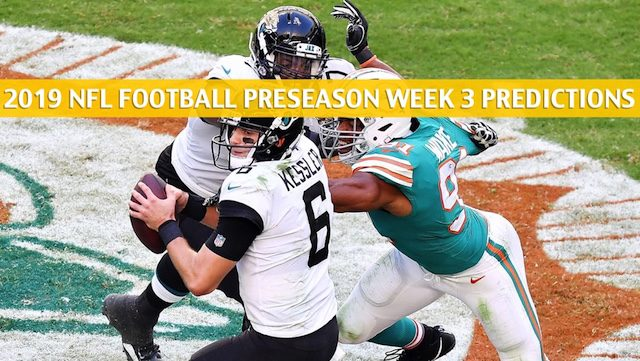 64a5ee61 Jaguars vs Dolphins Predictions, Picks, Odds, Preview - Aug 22 2019