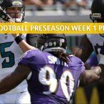 Jacksonville Jaguars vs Baltimore Ravens Predictions, Picks, Odds, and Betting Preview - NFL Preseason Week 1 - August 8 2019