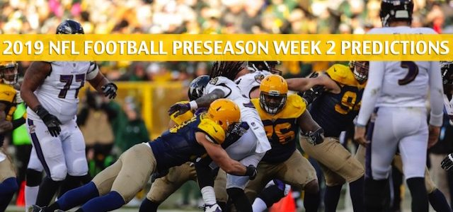 Green Bay Packers vs Baltimore Ravens Predictions, Picks, Odds, and Betting Preview – NFL Preseason Week 2 – August 15 2019