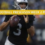 Oakland Raiders vs Arizona Cardinals Predictions, Picks, Odds, and Betting Preview - NFL Preseason Week 2 - August 15 2019