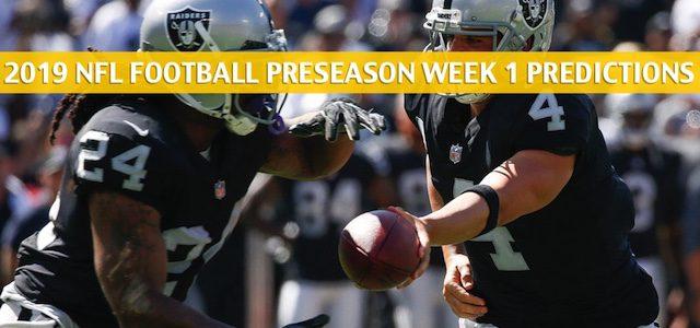 Los Angeles Rams vs Oakland Raiders Predictions, Picks, Odds, and Betting Preview – NFL Preseason Week 1 – August 10 2019