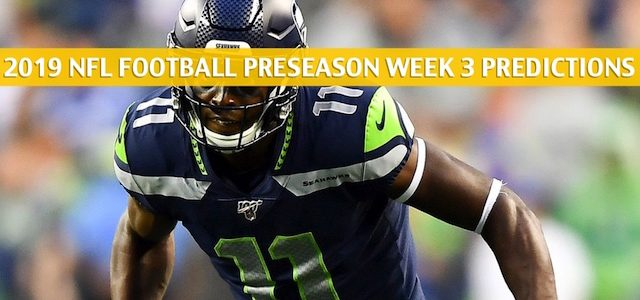 Seattle Seahawks vs Los Angeles Chargers Predictions, Picks, Odds, and Betting Preview – NFL Preseason Week 3 – August 24 2019
