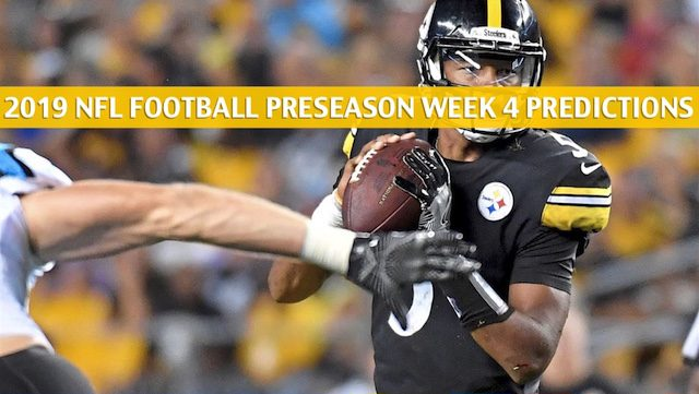 Steelers vs Panthers Predictions, Picks, Odds, Preview - Aug