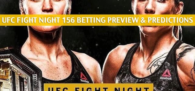 UFC Fight Night 156 Predictions, Picks, Odds, and Betting Preview – Shevchenko vs. Carmouche 2 – August 10 2019