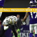 Minnesota Vikings vs New Orleans Saints Predictions, Picks, Odds, and Betting Preview - NFL Preseason Week 1 - August 9 2019