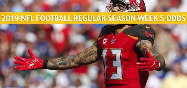 Tampa Bay Buccaneers vs New Orleans Saints Predictions, Picks, Odds, and Betting Preview – NFL Week 5 – October 6 2019