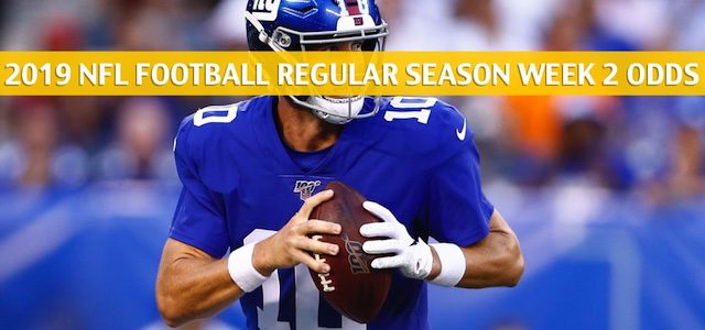 Buffalo Bills vs New York Giants Predictions, Picks, Odds, and Betting Preview – NFL Week 2 – September 15 2019