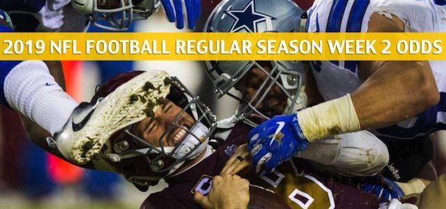Dallas Cowboys vs Washington Redskins Predictions, Picks, Odds, and Betting Preview – NFL Week 2 – September 15 2019