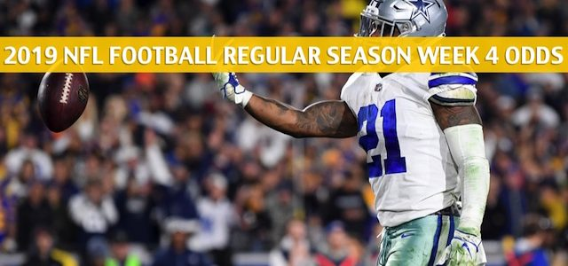 Dallas Cowboys vs New Orleans Saints Predictions, Picks, Odds, and Betting Preview – NFL Week 4 – September 29 2019