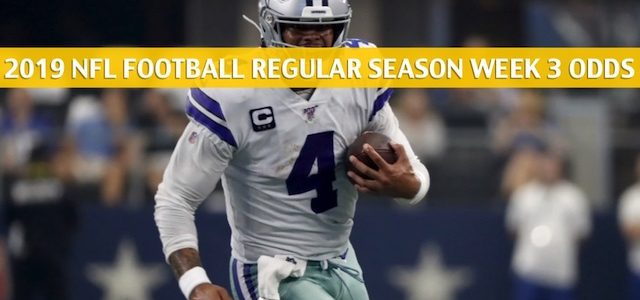 Miami Dolphins vs Dallas Cowboys Predictions, Picks, Odds, and Betting Preview – NFL Week 3 – September 22 2019